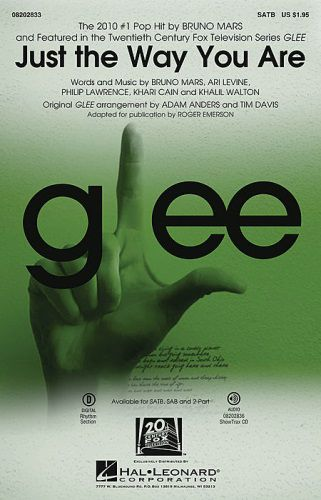 Just the Way You Are From Glee SATB