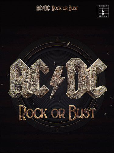 AC/DC Rock or Bust  Guitar Tab Edition