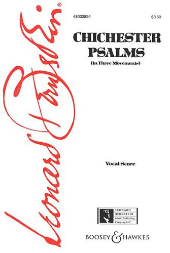 Chichester Psalms (Voice Orchestra) Vocal Scor