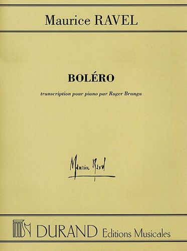 Ted Brown Music Ravel Bolero Piano Solo