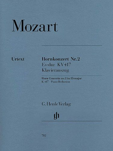Mozart Concerto for Horn and Orchestra No. 2 in E-Flat Major, K.417