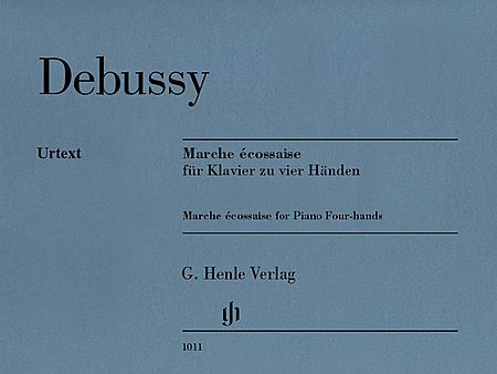 Debussy Marche Ecossaise Piano Duet