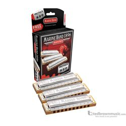 Hohner Marine Band Pro Pack Set of 3 C/G/A