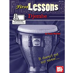 First Lessons Djembe Book/Online Audio & Video