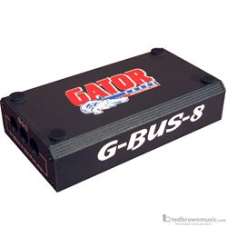 Gator Effect Pedal Board Power Supply G-BUS-8-US