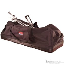 "Gator GP-HDWE-1846PE 18"" x 46"" Molded Bottom Drum Hardware Bag with Wheels"