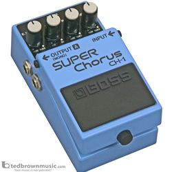Boss CH-1 Super Chorus Effect Pedal