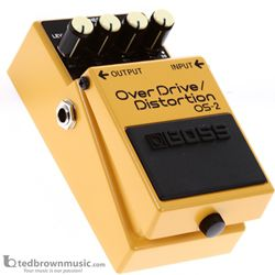 Boss OS-2 Overdrive & Distortion Effect Pedal