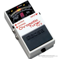 Boss TU-3 Chromatic Stompbox Tuner Pedal