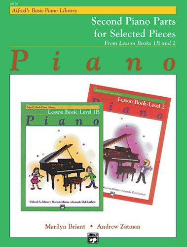 Alfred's Basic Piano Course: Lesson Book 1B & 2 (Second Piano Parts) [Piano]
