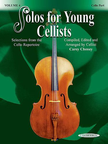 Solos for Young Cellists Volume 6 Cello and Piano