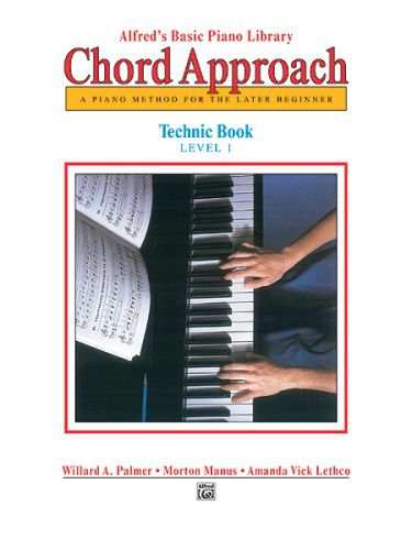 Ted Brown Music Alfreds Basic Piano Chord Approach Technic Book