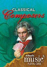 Alfred's Music Playing Cards : Classical Composers (1 Pack)