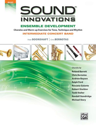 Sound Innovations for Concert Band: Ensemble Development [Electric Bass] Elec Bass