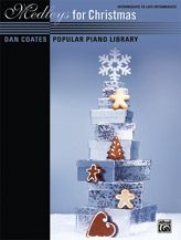 Dan Coates Popular Piano Library: Medleys for Christmas [Piano]