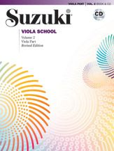 Suzuki Viola School Viola Vol 2 Book/CD (Revised) [Viola]