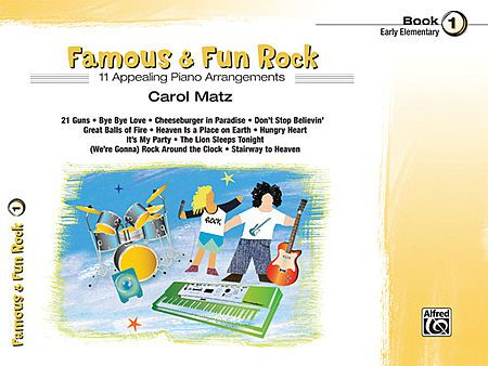 Famous & Fun Rock, Book 1 [Piano]