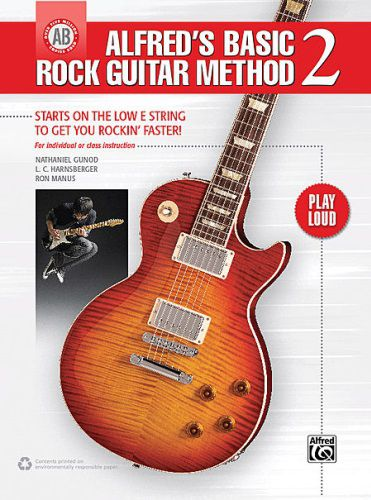 Alfred's Basic Rock Guitar Method 2 [Guitar] Book Only