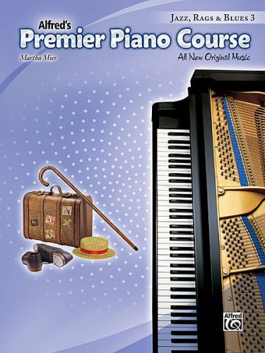 Premier Piano Course : Jazz, Rags & Blues Book 3 [Piano]