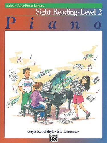 Alfred's Basic Piano Course: Sight Reading Book 2 [Piano]