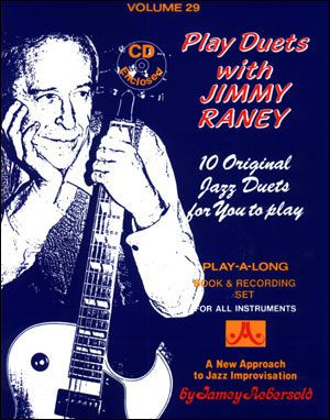 Play Duets with Jimmy Raney Vol 29 BK/CD