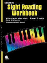 Sight Reading Workbook Level 3 Piano