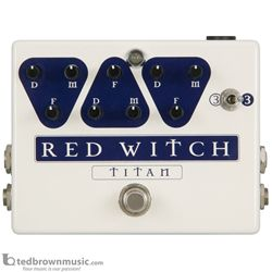 Red Witch Titan Delay Effect Pedal