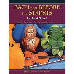 BACH AND BEFORE STRINGS VIOLIN STRING COL