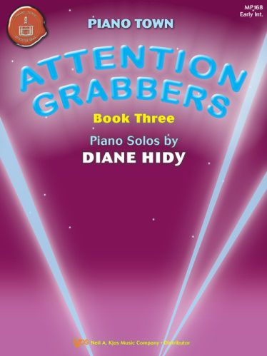 Piano Town Attention Grabbers Book 3