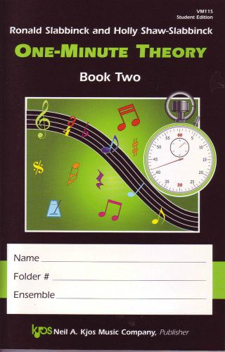 One Minute Theory for the Choral Classroom Student Bk 2 CHORAL BKS
