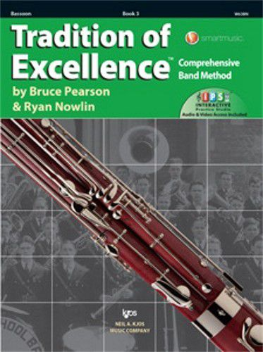 Tradition of Excellence Book 3 Bassoon TOE