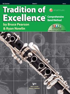 Tradition of Excellence Book 3 Clarinet TOE