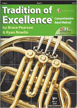 Tradition of Excellence Book 3 F Horn TOE