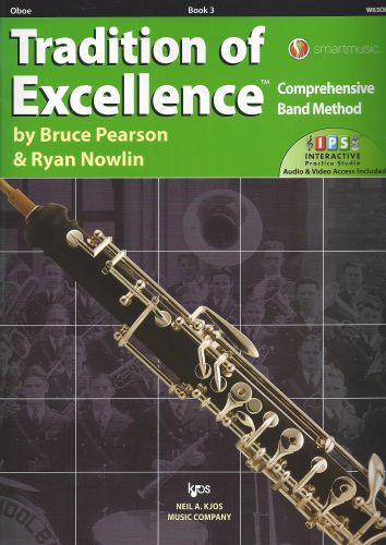 Tradition of Excellence Book 3 Oboe TOE