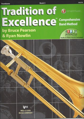 Tradition of Excellence Book 3 Trombone TOE