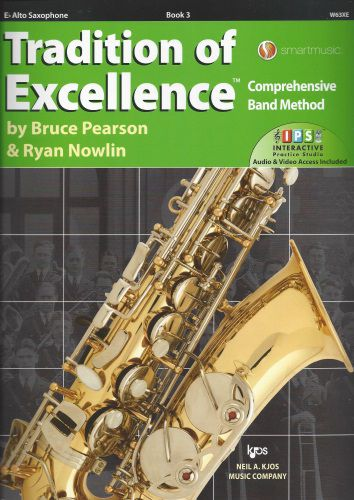 Tradition of Excellence Book 3 Alto Sax TOE