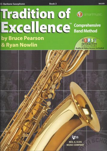 Tradition of Excellence Book 3 Bari Sax TOE