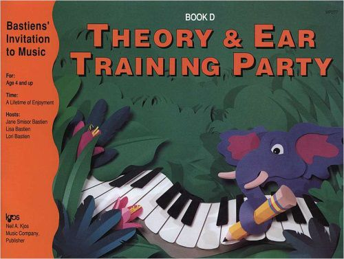 THEORY & EAR TRAINING PARTY BOOK D BASTIEN IN