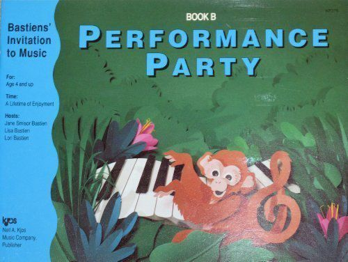 PERFORMANCE PARTY BOOK B BASTIEN IN