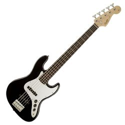 Affinity Jazz Bass V (5 String), Rosewood Fingerboard, Black