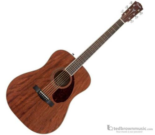 Fender Paramount PM-1 Standard Dreadnought NE All-Mahogany, Rosewood Frettboard