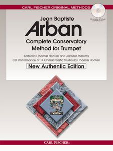 Arban Complete Conservatory Method for Trumpet New Authentic Edition with Accompaniment and Perfor