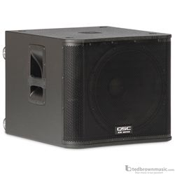 "QSC KW181 18"" 1000 Watt Powered Subwoofer"