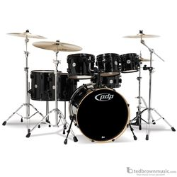 Pacific PDCM2217 Concept Series Maple 7-Piece Shell Pack