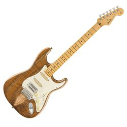 2019 Rarities Collection Strat With Flame Koa Top