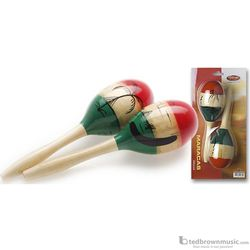 Stagg Maracas Wood Painted Small MRW-26M
