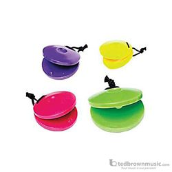 Hohner Castanets Plastic Single Assorted Colors