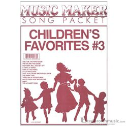 Melody Harp Music Maker Childrens Favorites #3 MM33