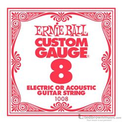 Ernie Ball String Guitar .008 Steel 1008
