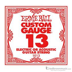 Ernie Ball String Guitar .013 Steel 1013ST
